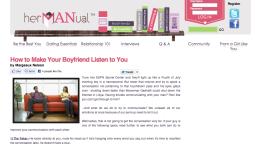 hermanual.com, girls advice, advice for women, content writer