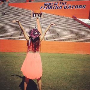 University of Florida graduate, Margeaux Nelson, summa cum laude, B.A. in Public Relations