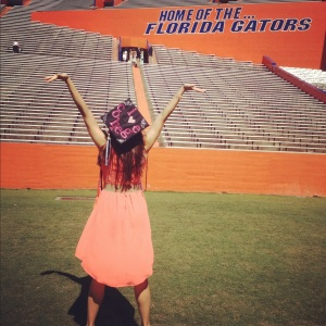University of Florida graduate, Margeaux Nelson, summa cum laude, B.A. in Public Relations