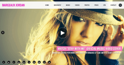 Music Artist / Professional Entertainer Website